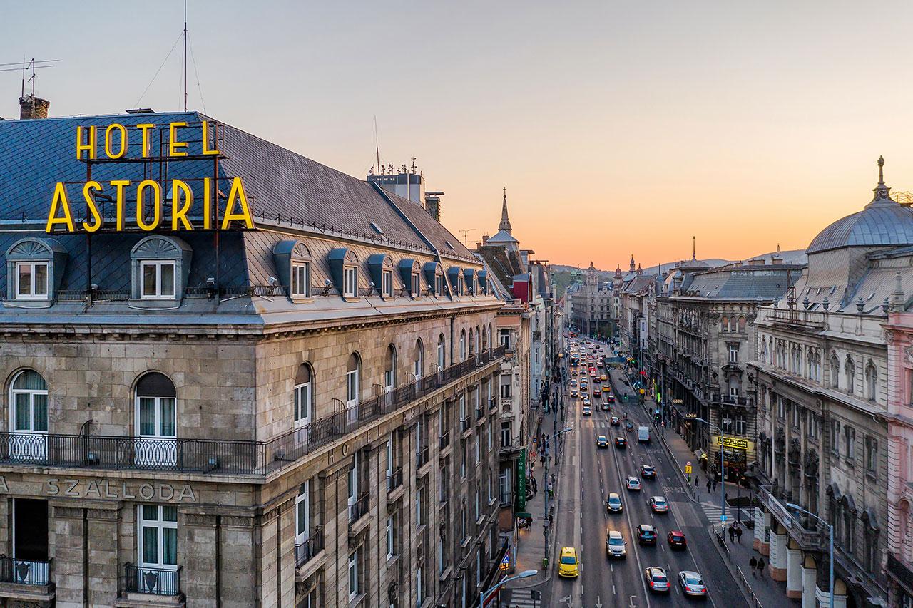 Budapest Hotel Astoria